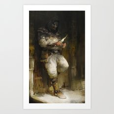 Assassin Art Print