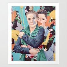 SaMon Art Print