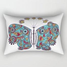 constellation butterfly (ORIGINAL SOLD). Rectangular Pillow