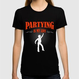 Partying T-shirt