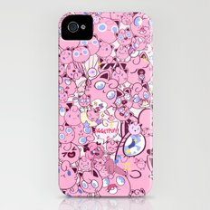 SO MANY PINK PUFFS Slim Case iPhone (4, 4s)