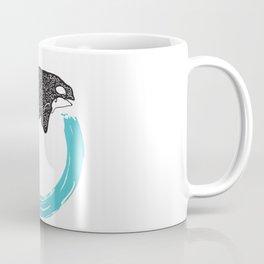Orca Circle Coffee Mug