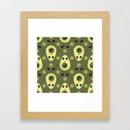 Cute Avocado Framed Art Print