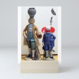 The Royal Couple Mini Art Print