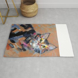 Stripes and Strokes Rug