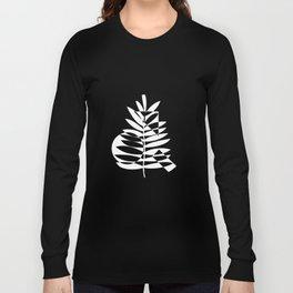Geometric leaf - 2 Long Sleeve T-shirt