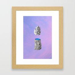 geode 03 Framed Art Print