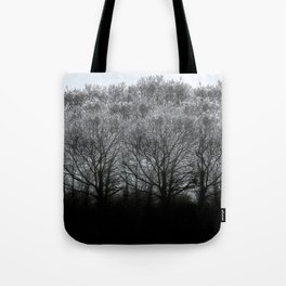 The trees of the mind are black. ' Tote Bag