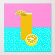 Lemonade /// www.pencilmeinstationery.com Canvas Print