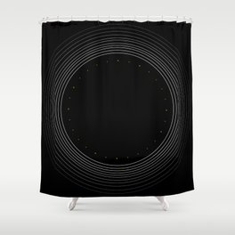 // Tube Infographics vol. I // Shower Curtain