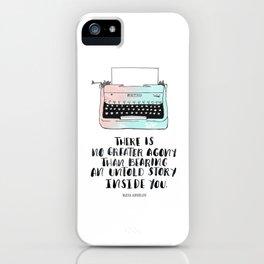 WRITE iPhone Case