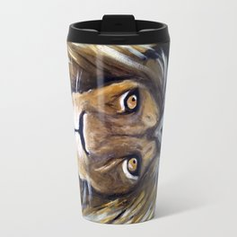 Portrait Of The King Travel Mug