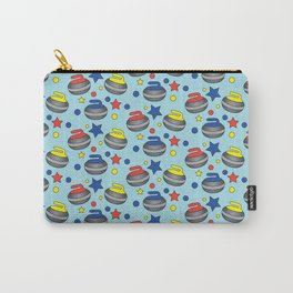 Curling Stone Print Carry-All Pouch