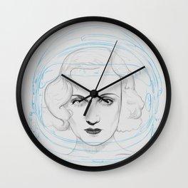 Space Lombard Wall Clock