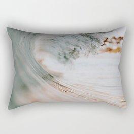 summer waves xiii Rectangular Pillow