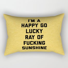 Ray Of Sunshine Funny Quote Rectangular Pillow