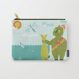 Harold Goes Fishing Carry-All Pouch