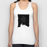 hogwarts Tank Tops featuring Hogwarts Letter by IA Apparel