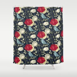 The Nightingale and the Rose Shower Curtain