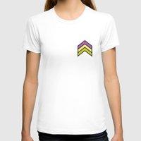 chevron T-shirts featuring Chevron by Nick Ellsworth