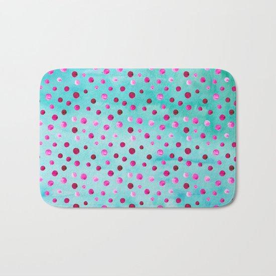Polka Dot Pattern 05 Bath Mat