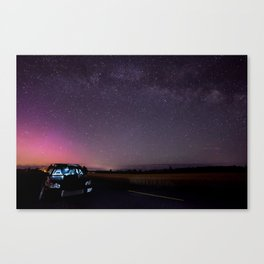 Nocturnal Subaru Canvas Print