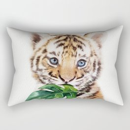 Tiger Leaf Rectangular Pillow
