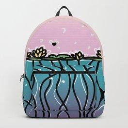 Underwater Lilies Backpack