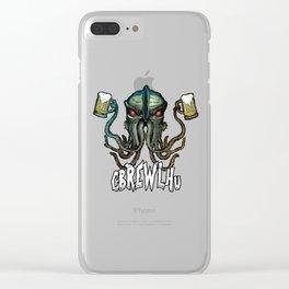 Cbrewlhu Clear iPhone Case