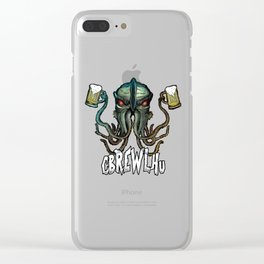 Cbrewlhu Clear iPhone Case
