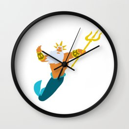 King Triton Wall Clock
