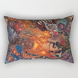 THE FUCKING FROGMAN RAGE! Rectangular Pillow