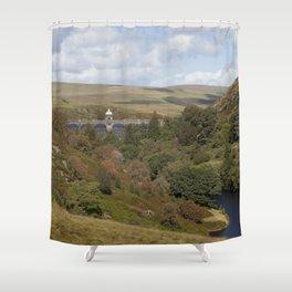 Craig Goch Dam III Shower Curtain