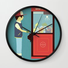 Claw Machine Wall Clock