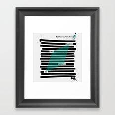 The Interpretation... Framed Art Print