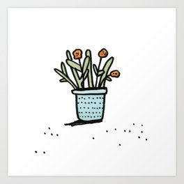 Pretty Plant 2 Art Print
