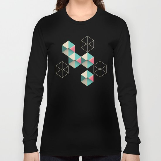 Empty cubes Long Sleeve T-shirt