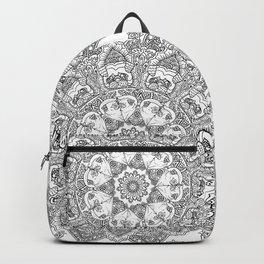 Mandala of Pug Love Backpack