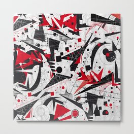 Constructivism Metal Print