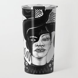 Evil on Your Mind 02 Travel Mug