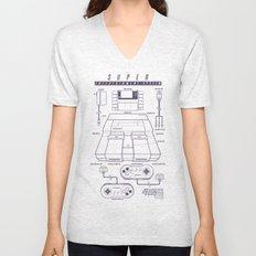 Super Entertainment System (light) Unisex V-Neck