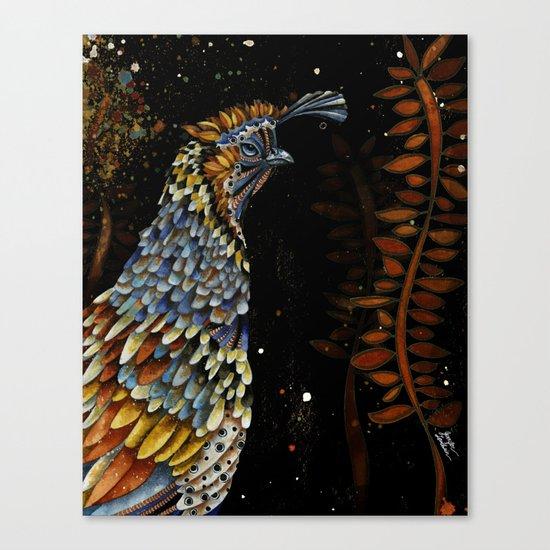 QUAIL KREIOS Canvas Print