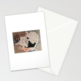 Buried Deep in Colder Places Stationery Cards