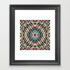 hidden circle Framed Art Print