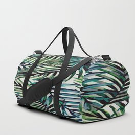 Palm Leaves Abstract Duffle Bag