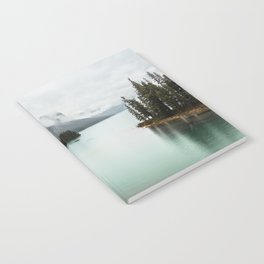 Landscape Photography Maligne Lake Notebook