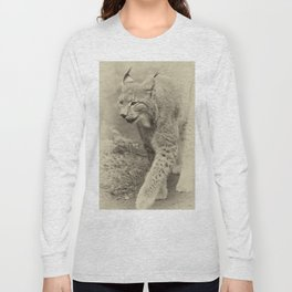 beautiful lynx Long Sleeve T-shirt