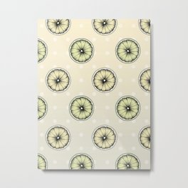 Lemon & Lime Metal Print