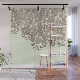 Wisteria - a thing of beauty is a joy forever Wall Mural