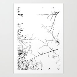 In my Veins NO2 Art Print